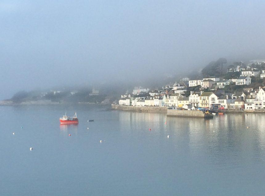 seaside misty morning